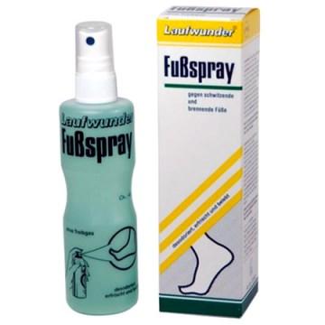 Spray desodorizante para os pés